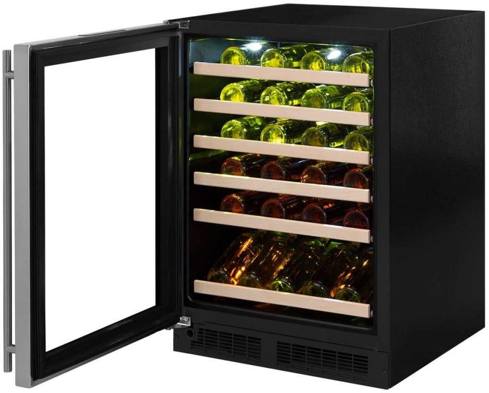Marvel Ml24wsg3ls 45 Bottle Wine Refrigerator Stainless Frame With Gl Door Model