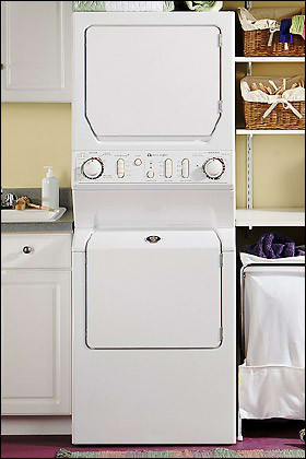 Maytag Mlg2000aww 27 Inch Gas Laundry Center With 3 34 Cu