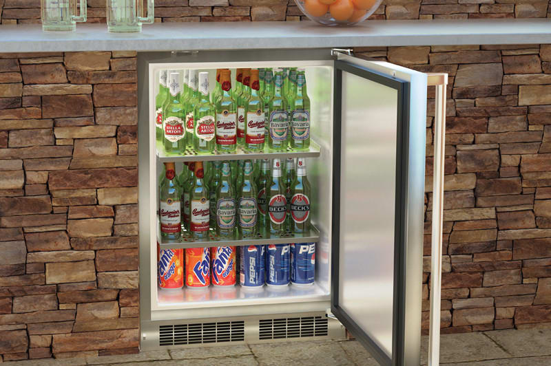 Marvel Mo24ras1rs 24 Inch Built In Outdoor Refrigerator