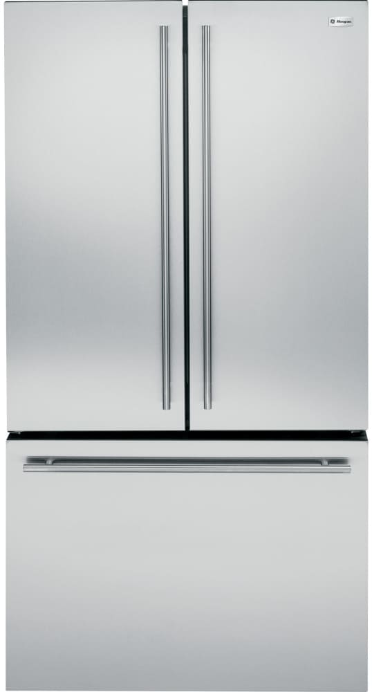 Monogram Zwe23eshss 36 Inch Counter Depth French Door Refrigerator From