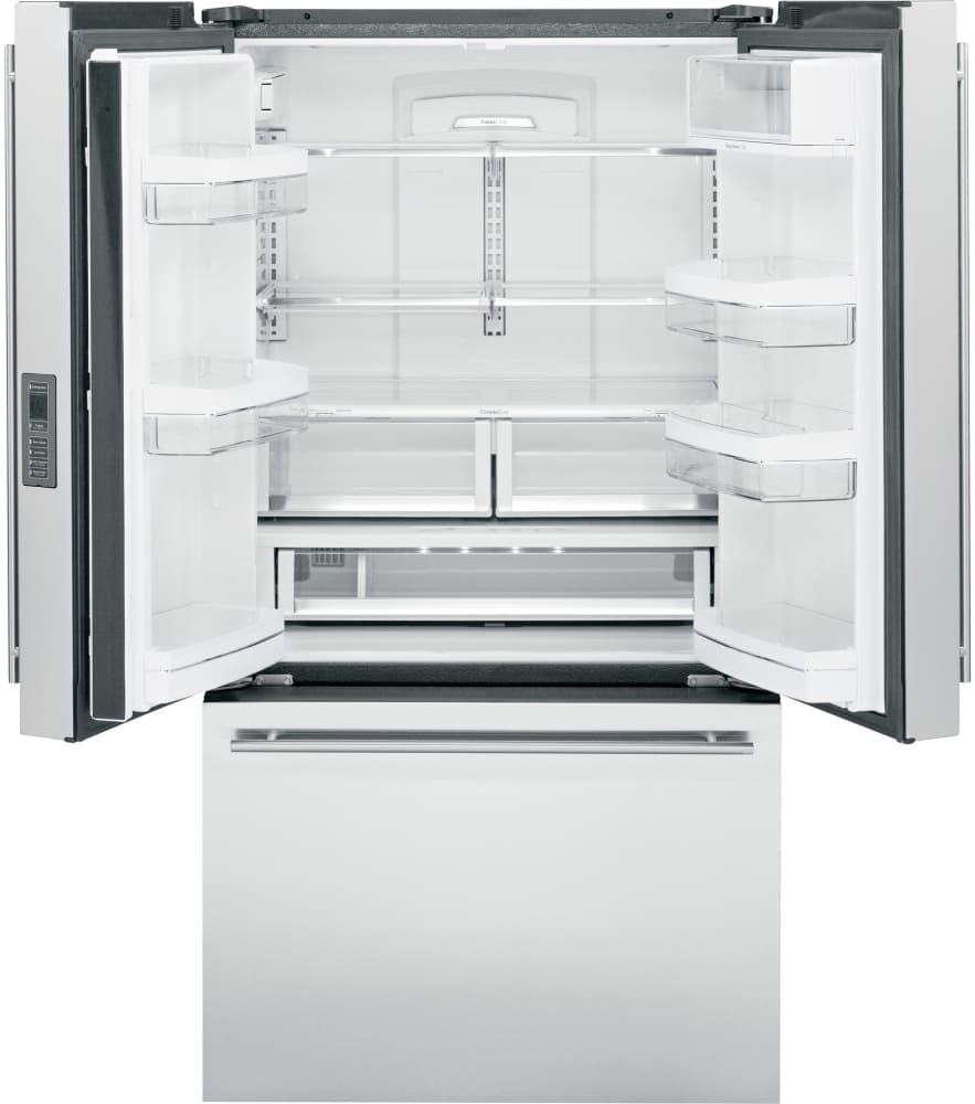 Refrigerator From Monogram Zwe23eshss Interior View