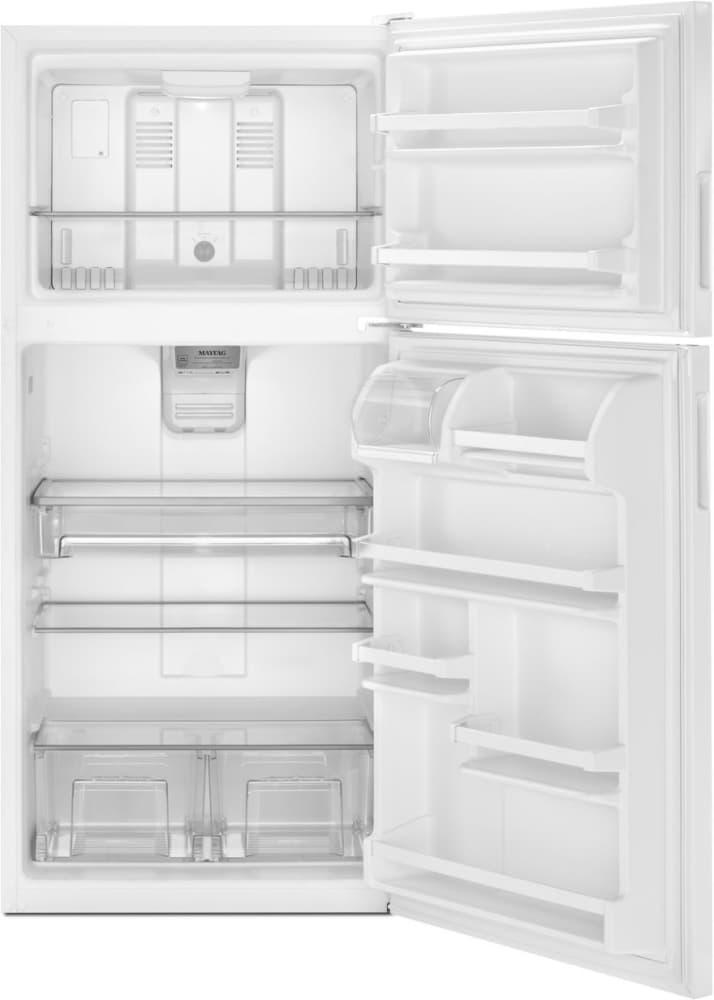 Maytag Mrt311fffh 33 Inch Top Freezer Refrigerator With 20