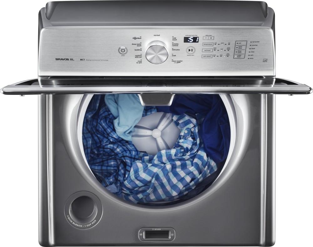 Maytag Mvwb835dc 28 Inch Top Load Washer With Powerwash