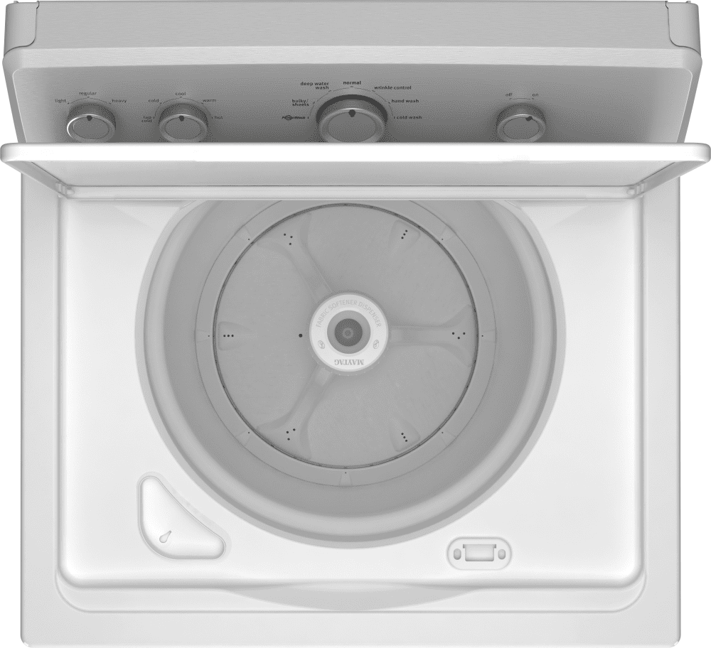maytag heritage series mvwc215ew open view - Top Load Washer Reviews