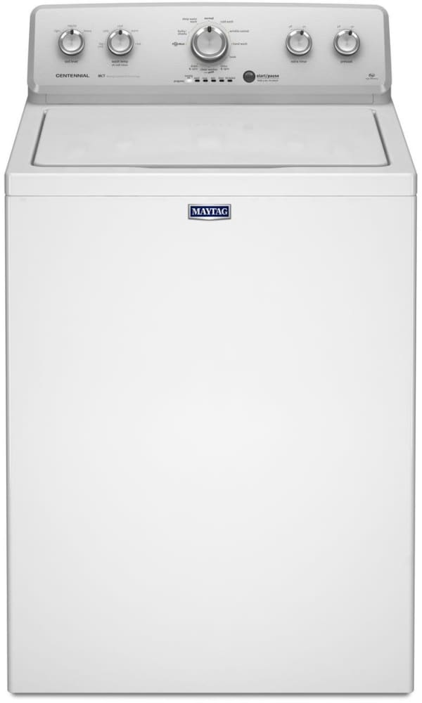 maytag mvwc415ew 28 inch 3 6 cu  ft  top load washer with