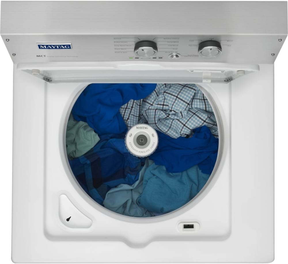 Top Load Washers With Agitators Maytag Mvwp475ew 28 Inch 36 Cu Ft Top Load Washer With 11 Wash