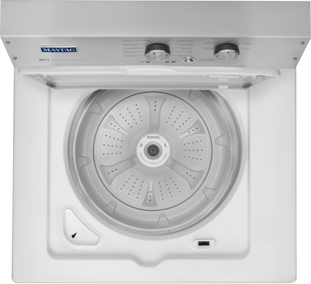 Best Top Load Washers >> Maytag MVWP475EW 28 Inch 3.6 cu. ft. Top Load Washer with 11 Wash Cycles, 800 RPM, PowerWash ...