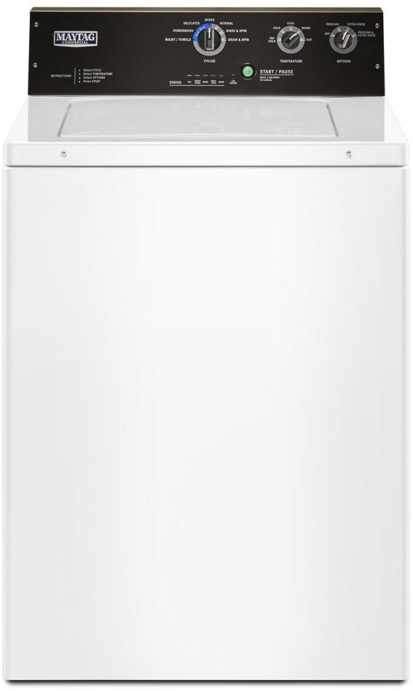 Maytag Mvwp575gw 27 Inch Top Load Washer With Powerwash