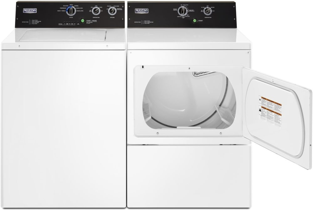 Maytag Mvwp575gw 27 Inch Top Load Washer With Powerwash