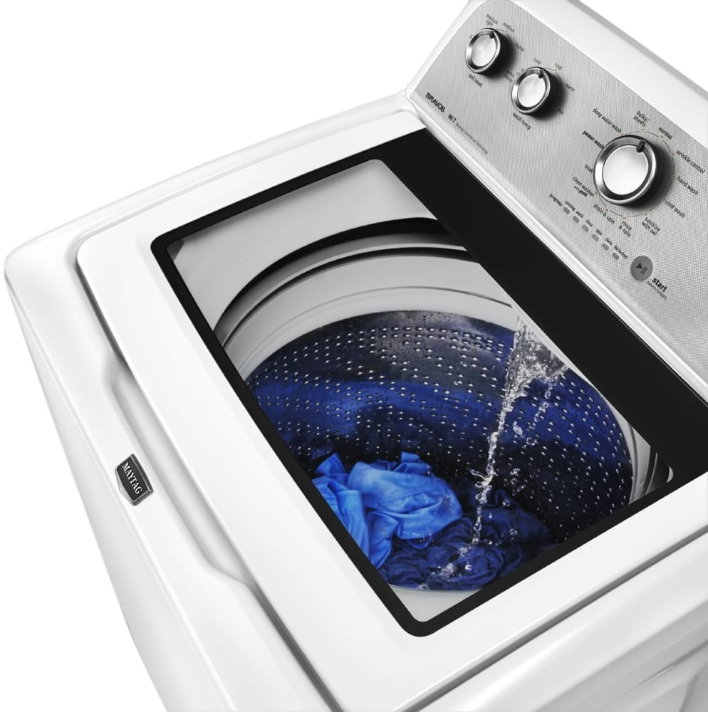 Maytag Mvwx600bw 27 Inch Top Load Washer With 3 8 Cu Ft