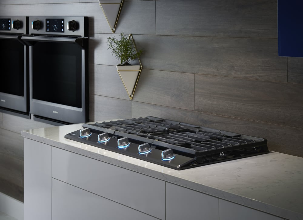 Samsung Na36k7750tg 36 Inch Gas Cooktop With 5 Sealed