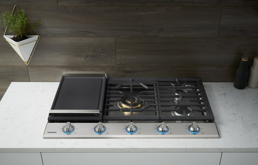 Samsung Na36k7750ts 36 Inch Gas Cooktop With 5 Sealed