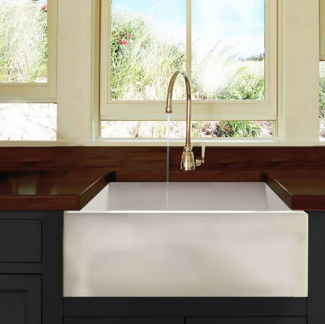 ... Nantucket Sinks Cape Collection Hyannis HYANNIS24   Farmhouse Apron Sink  From Nantucket