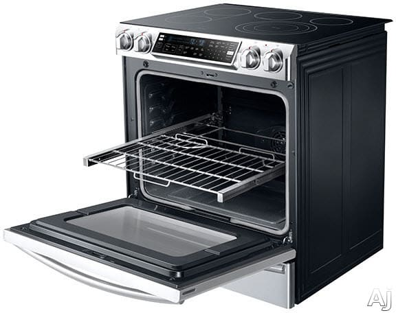 Samsung Ne58f9710ws 30 Inch Slide In Electric Range With