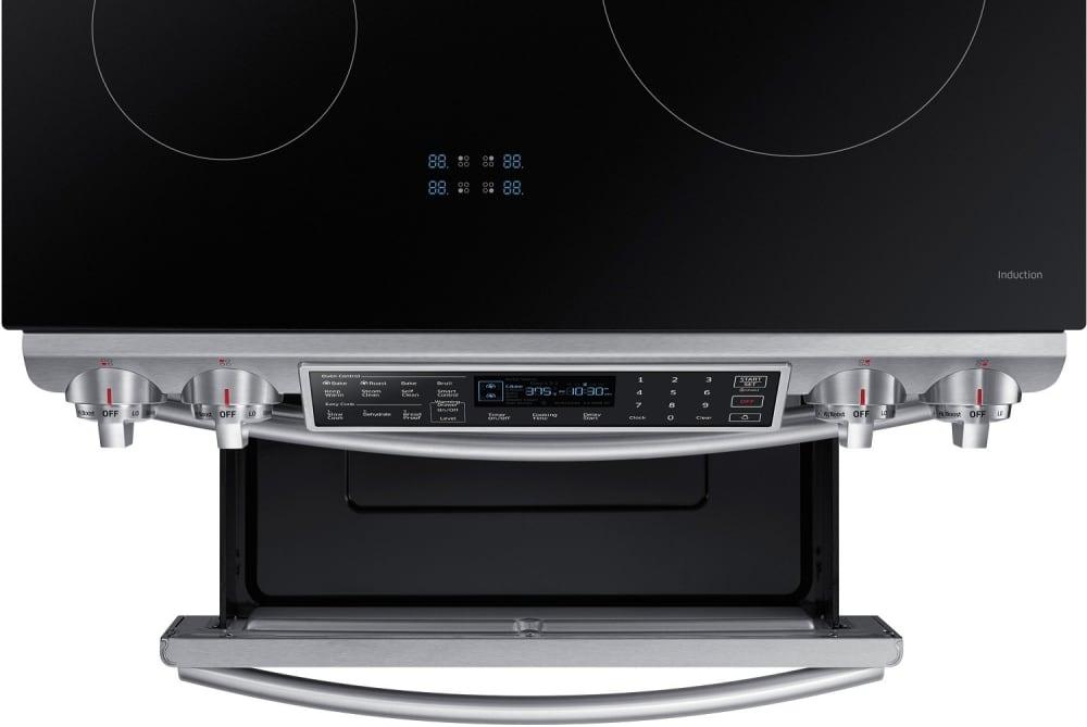 Samsung Ne58k9560ws 30 Inch Induction Slide In Range With