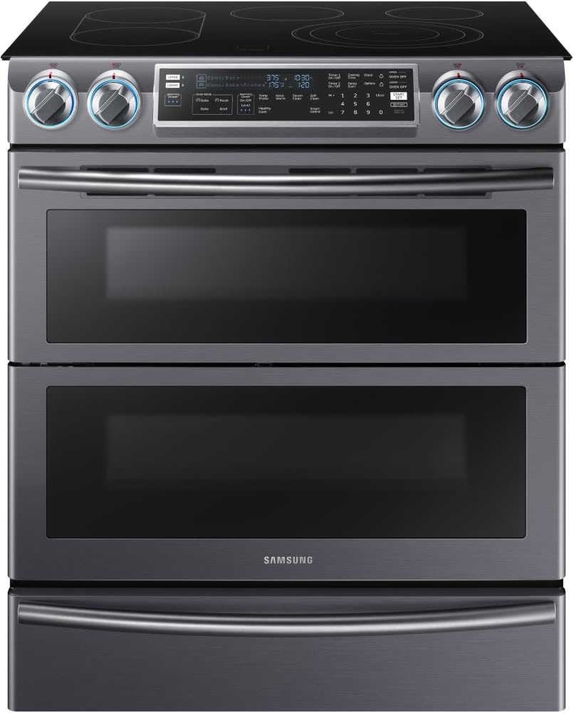 samsung ne58k9850wg 30 inch flex duo slide in electric range with soft close dual door 5. Black Bedroom Furniture Sets. Home Design Ideas
