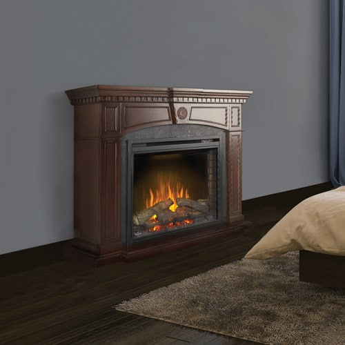 Napoleon Nefp330114m Harlow Fireplace Mantel With 33 Inch Indoor Electric Fireplace