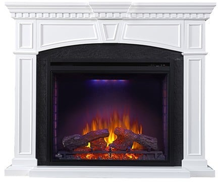 Napoleon Nefp330214w Taylor Fireplace Mantel With 33 Inch Indoor Electric Fireplace