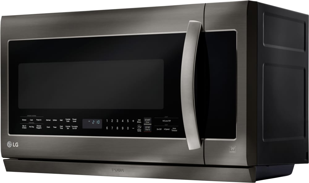 Microwave Oven With Lg Lmhm2237bd 3 4 View