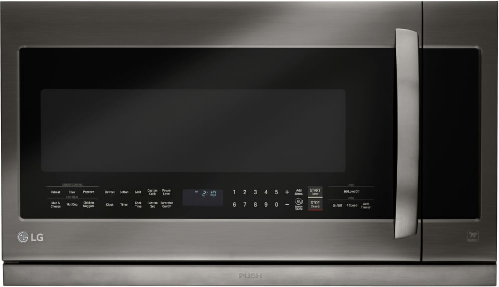 Lg Lmhm2237bd 2 Cu Ft Over The Range Microwave Oven With
