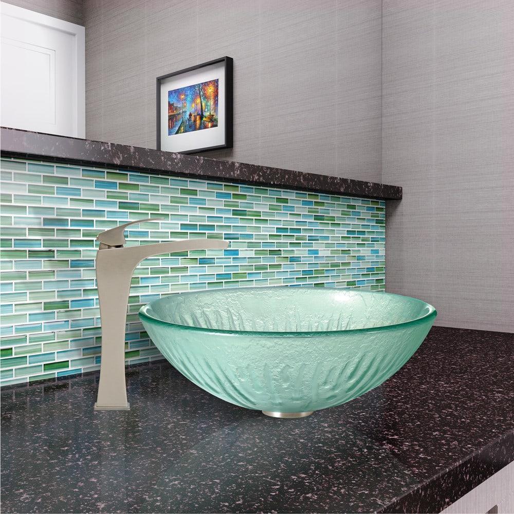 Bathroom Faucets Phoenix vigo industries vg03018 single lever cast spout bathroom sink