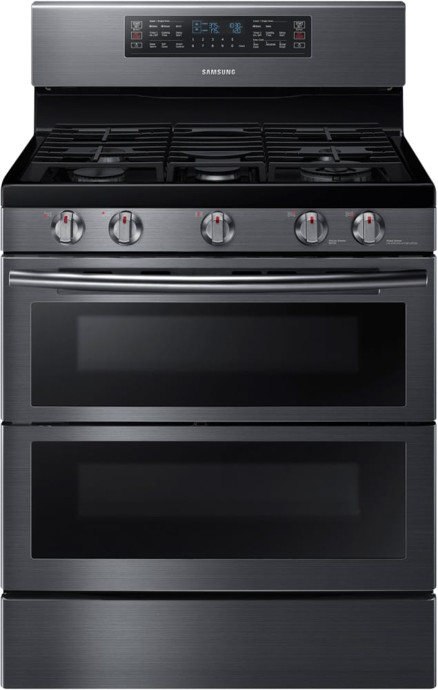 Samsung Nx58k7850sg 30 Inch Flex Duo Gas Range With Dual