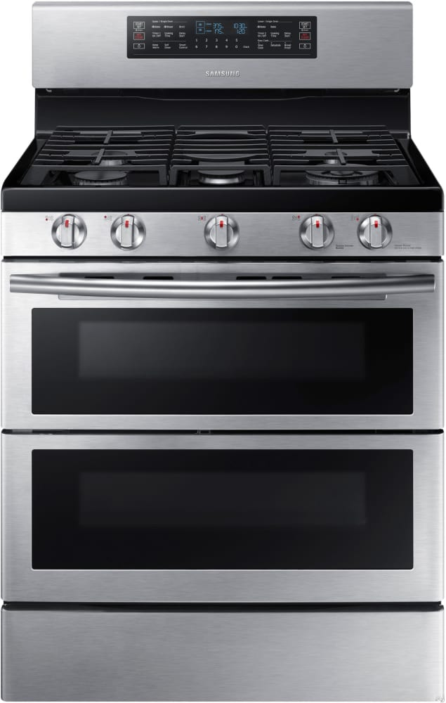 Samsung Nx58k7850ss 30 Inch Flex Duo Gas Range With Dual