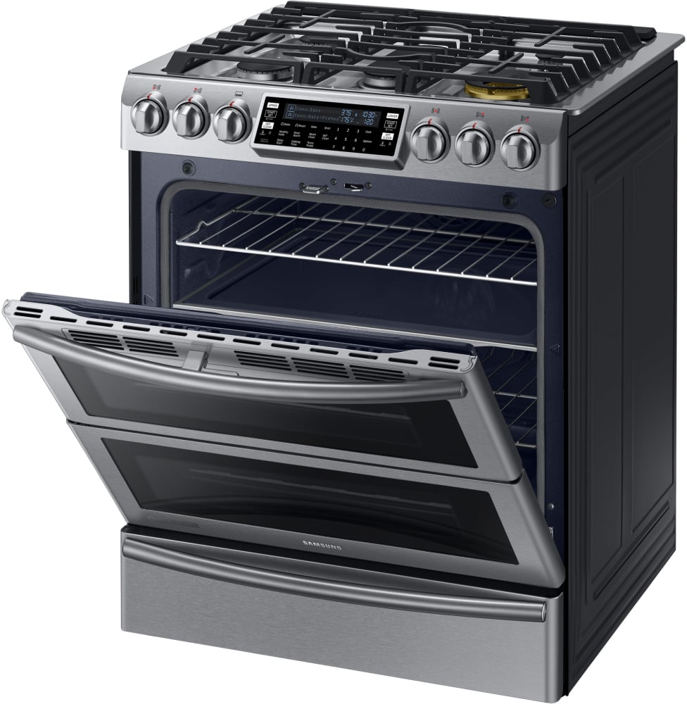 how to clean samsung oven partition