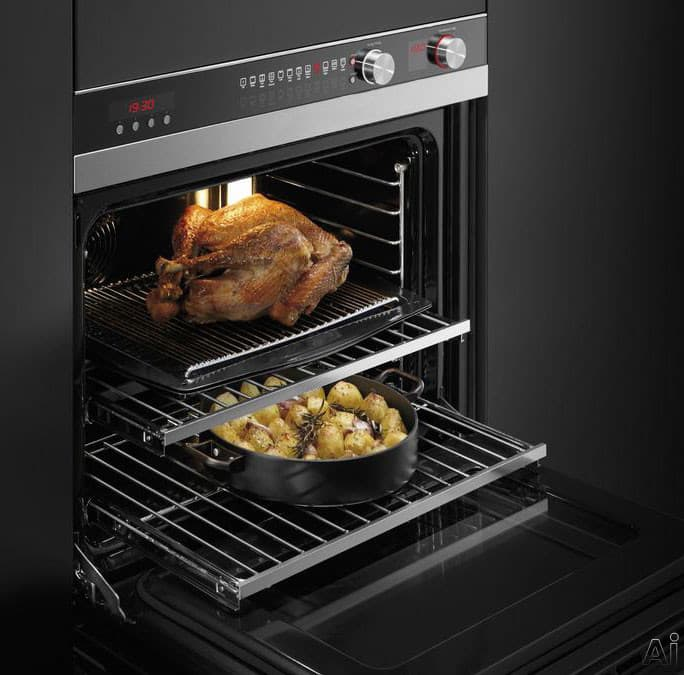 Fisher Amp Paykel Ob30dtepx3 30 Inch Double Electric Wall