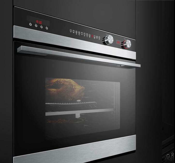 Fisher Amp Paykel Ob30stepx3 30 Inch Single Electric Wall