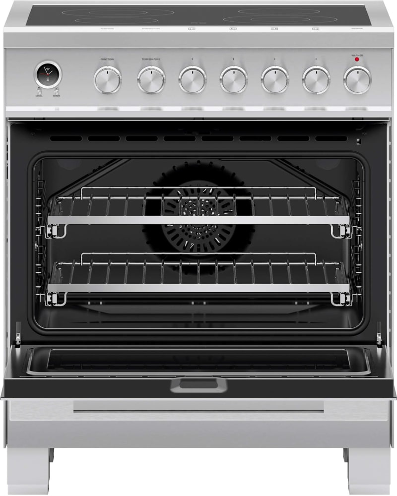 Fisher & Paykel OR30SDE6X1 30 Inch Electric Range with Ceramic ...