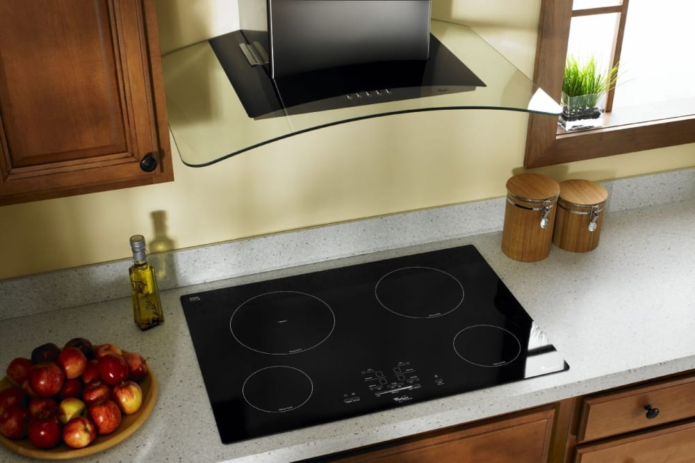 Whirlpool Gci3061xb 30 Inch Electric Cooktop With