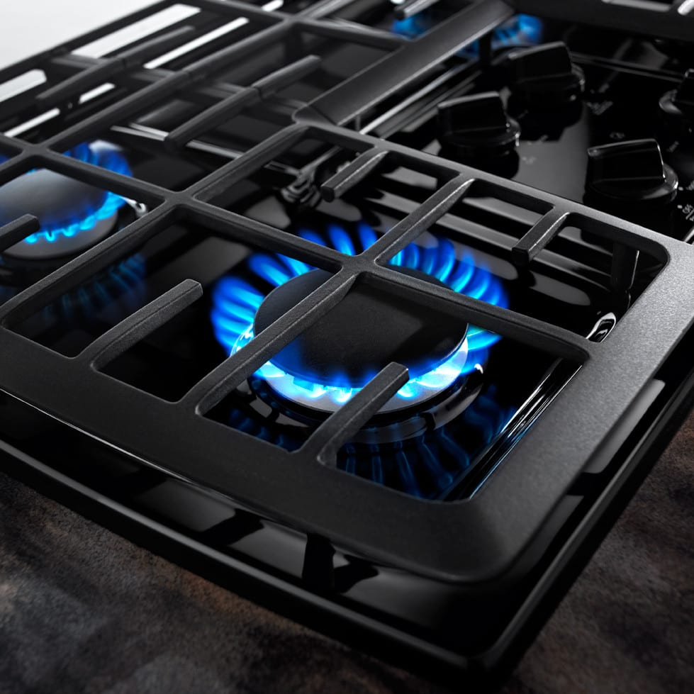 Whirlpool G7CG3064XS 30 Inch Gas Cooktop with 4 Sealed Burners ...