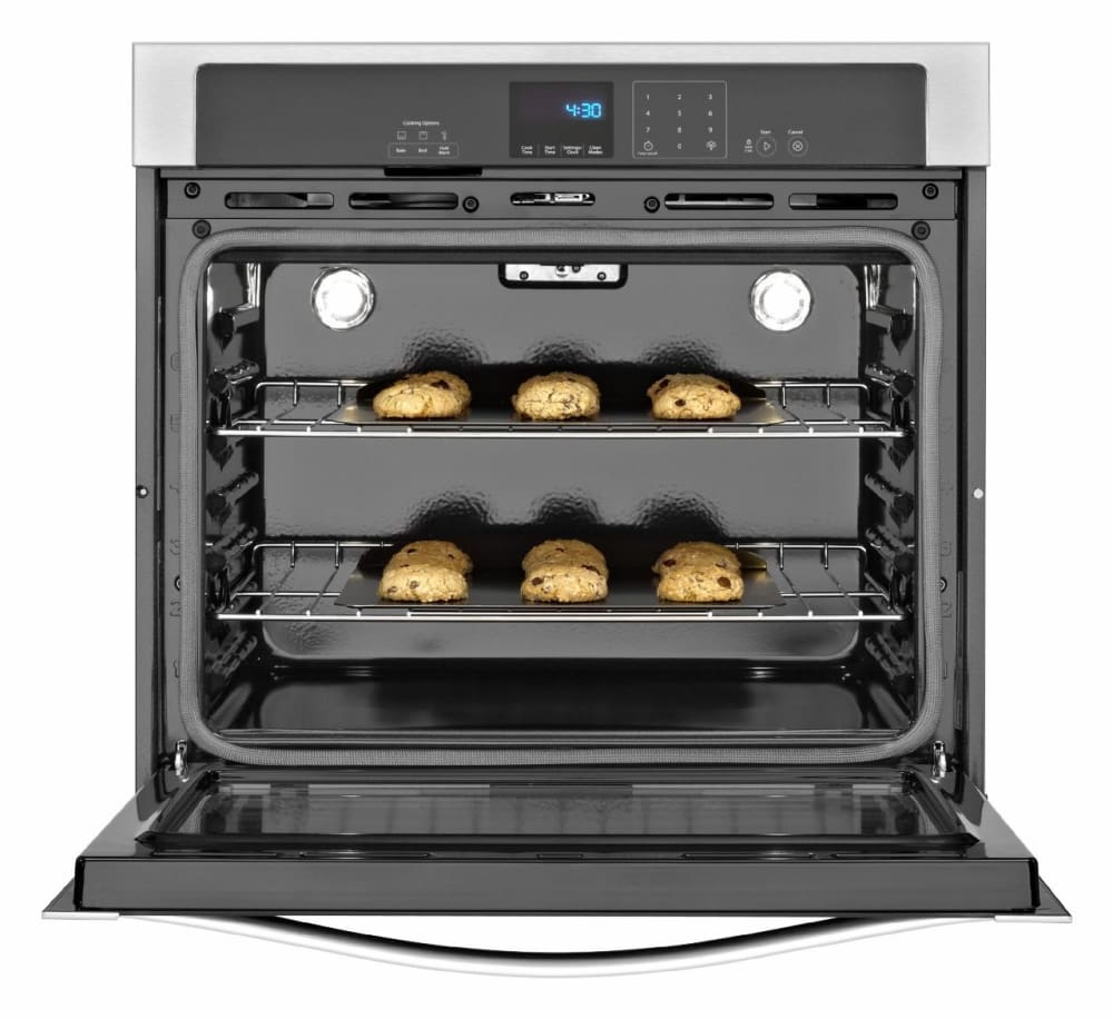 Whirlpool Wos51ec7ab 27 Inch Single Electric Wall Oven