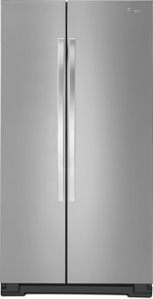 Attirant Whirlpool WRS325FNAM   Monochromatic Stainless Steel ...