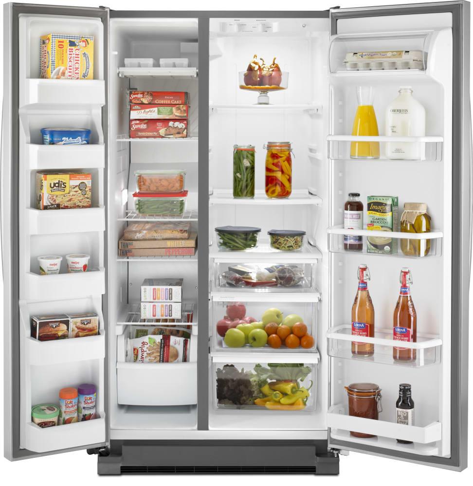 Whirlpool Wrs325fnam 36 Inch Side By Side Refrigerator