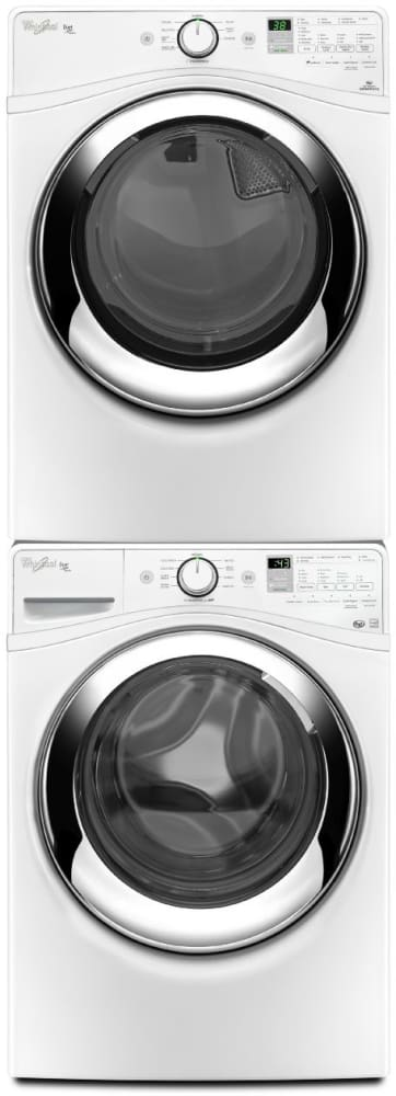 Whirlpool Wfw87hedw 27 Inch 4 2 Cu Ft Front Load Washer