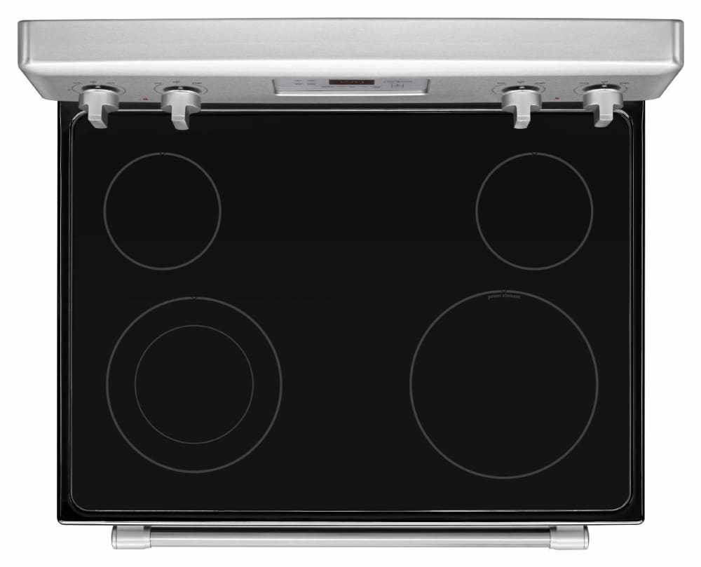 Maytag mer8600ds 30 inch freestanding electric range with for Ajmadison