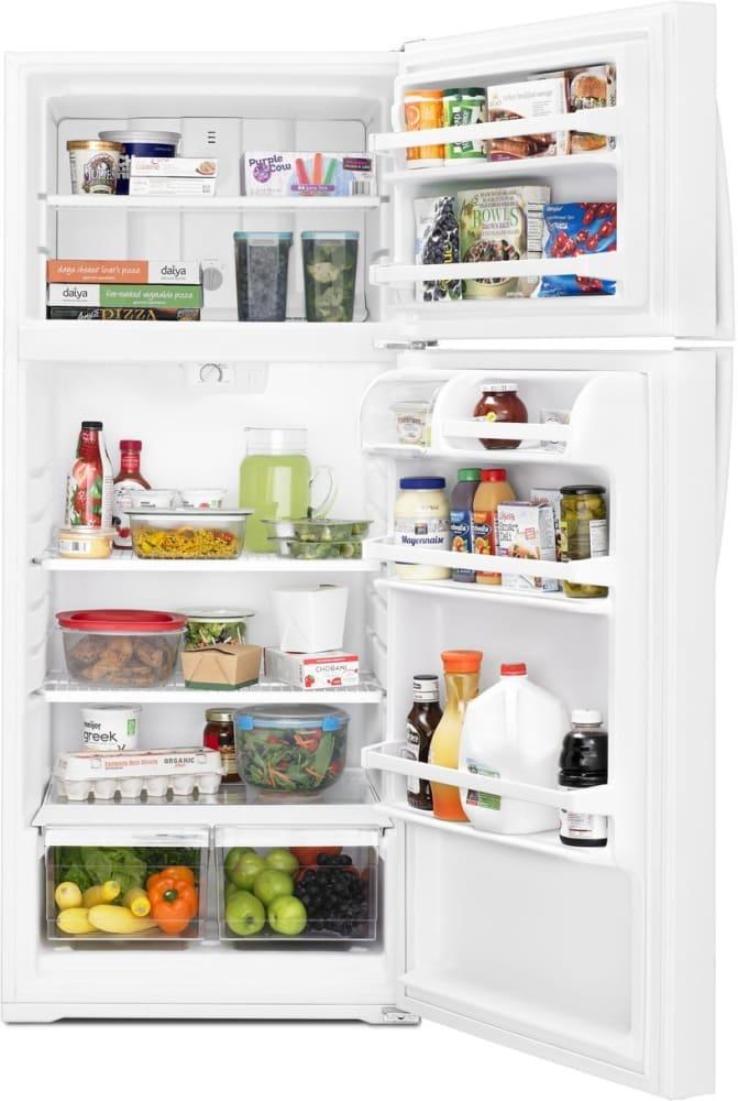 Whirlpool Wrt106tfdw 28 Inch Top Freezer Refrigerator With