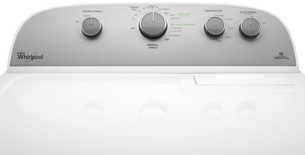 Whirlpool Wed5000dw 29 Inch 7 0 Cu Ft Electric Dryer