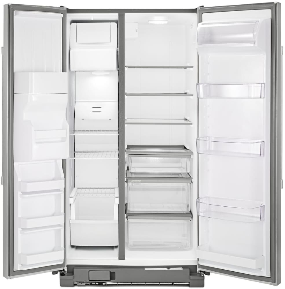 Maytag Msf25d4mdm 25 0 Cu Ft Side By Side Refrigerator