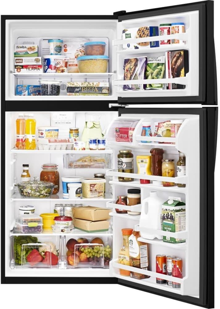 Whirlpool Wrt318fzdb 30 Inch Top Freezer Refrigerator With