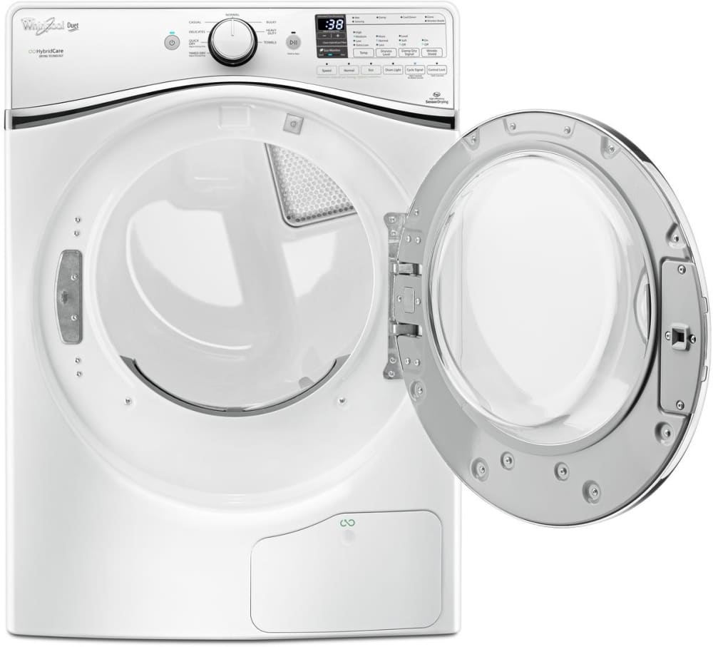 Whirlpool Wed99hedw White Interior View