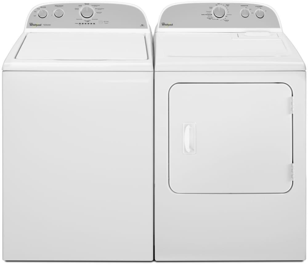 Ft. Capacity Whirlpool WGD4815EW - Laundry Pair