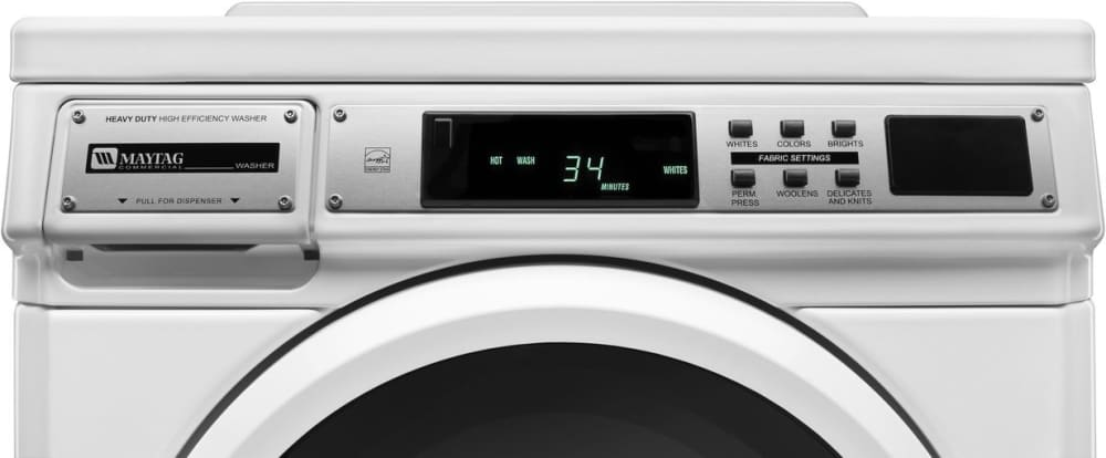 Maytag Mhn30prcww 27 Inch Front Load Commercial Washer
