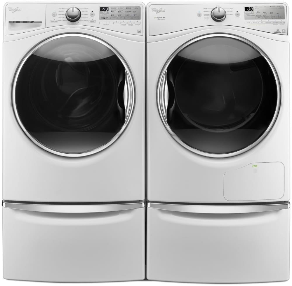 Whirlpool wed9290fw 27 inch 7 4 cu ft ventless electric for Ajmadison