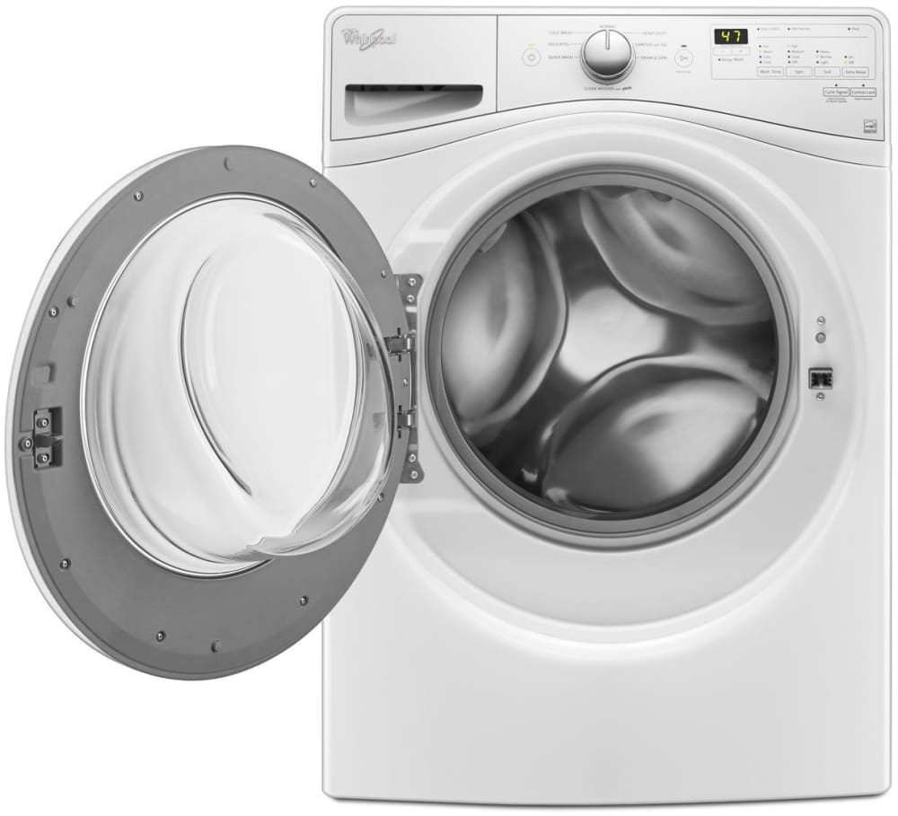 Whirlpool wfw75hefw 27 inch front load washer with steam technology adaptive wash precision - Whirlpool duet washer and dryer ...