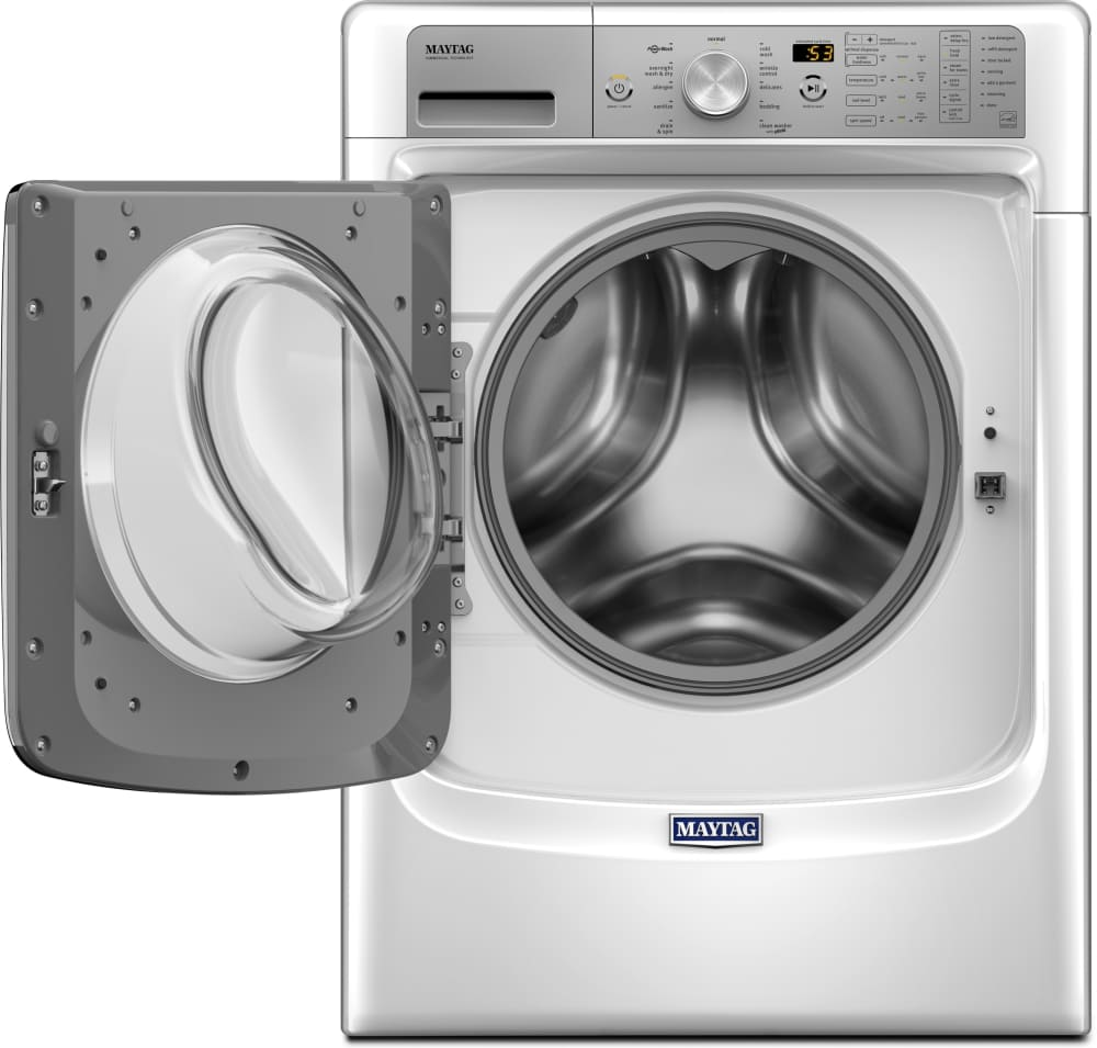 Maytag Mhw8200fw 27 Inch 46 Cu Ft Front Load Washer With Steam Wiring Diagram Further Washing Machine Control Circuit 45 Interior Capacity