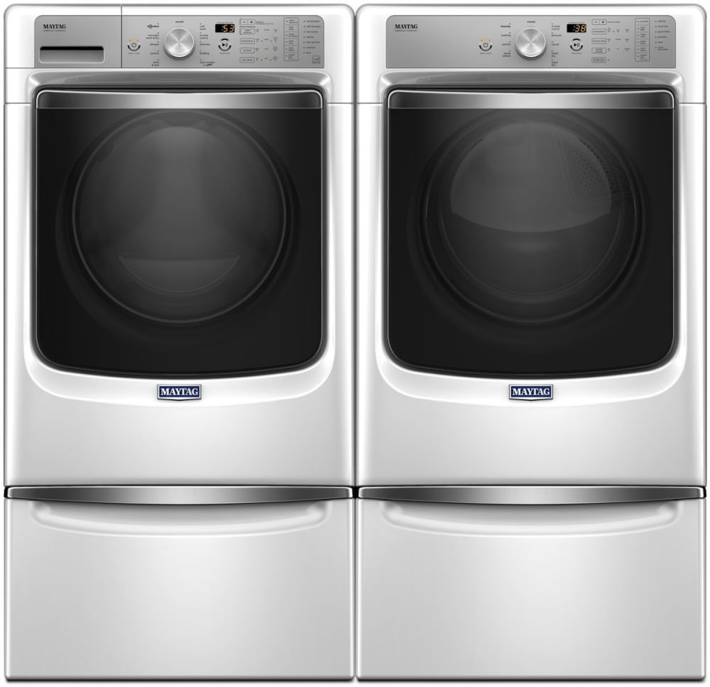 Maytag Mawadrew2 Side By Side On Pedestals Washer Amp Dryer