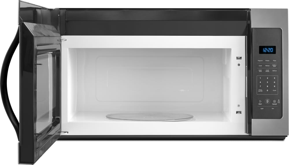 Whirlpool Wmh31017fd 1 7 Cu Ft Over The Range Microwave